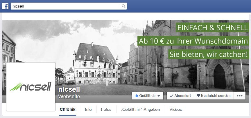 nicsell bei facebook